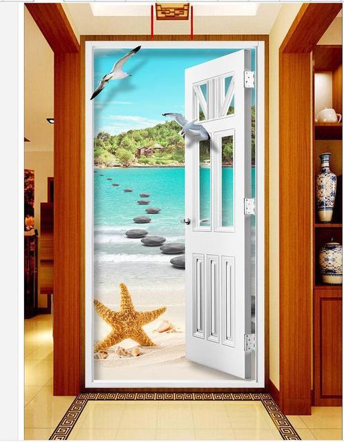 3d Door Wallpaper : wallpaper, Wallpaper, Inspiration