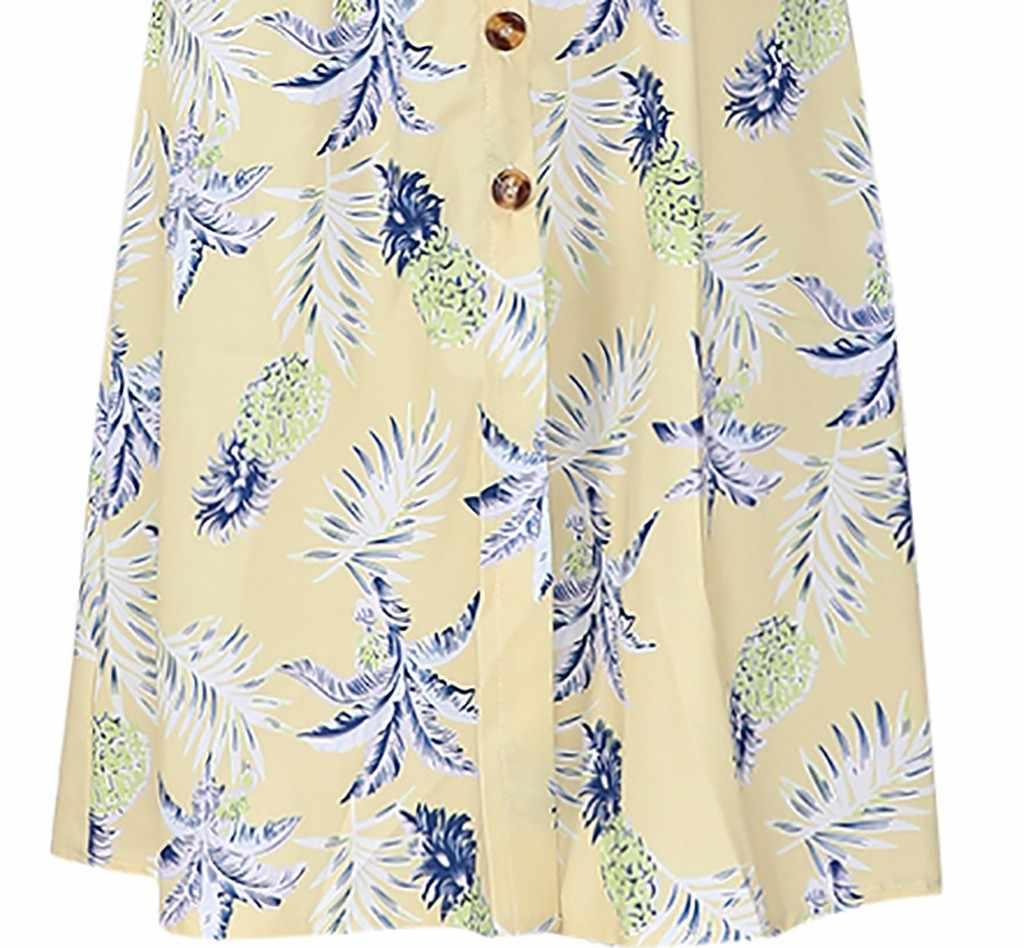 Primavera E No Verão das mulheres Moda Casual Vestido Listrado Vestido de Praia Floral Impressão Bohemian Feminino Feminino vestidos de fiesta