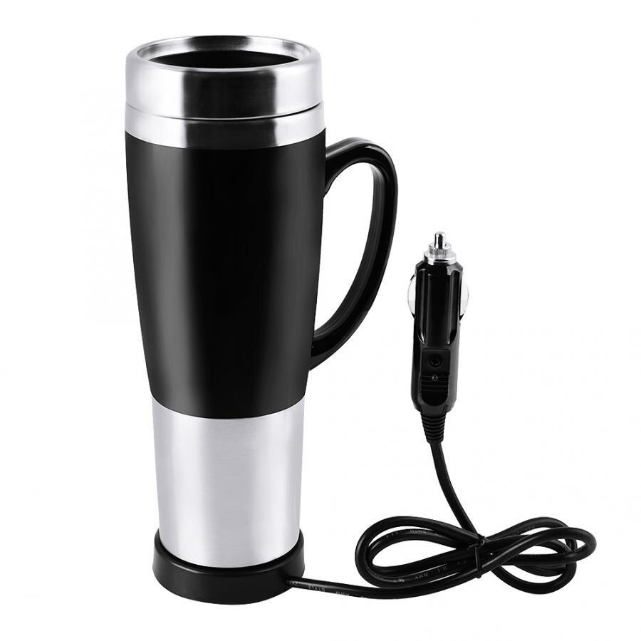 DC12V Автомобильная сигарета зажигалка нагревательная чашка чайник Изолированная нержавеющая сталь водонагреватель кружка кипящая кружка для путешествий кофейная чашка