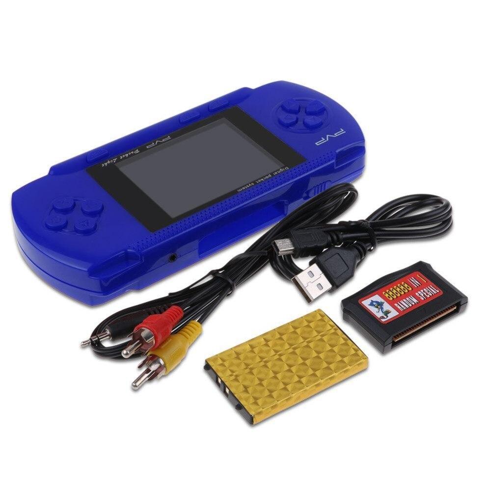 PVP 3000 Handheld Spiel Player Eingebaute 89 Spiele Tragbare Video Konsole 2,8 ''LCD Handheld Player Für Kinder Mini Video konsole