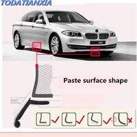 2018 New Car styling Car Front Bumper Lip Sticker Protector for bmw f11 mercedes cla alfa romeo mito renault clio Accessories