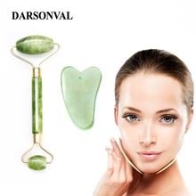 Darsonval Natural Facial Beauty Massage Tool Jade Roller Fac