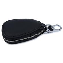 Hot Brand Guaranteed 100% Cowhide Unisex Key Holders New Arrivals Genuine Leather European And American Style Car Wallets