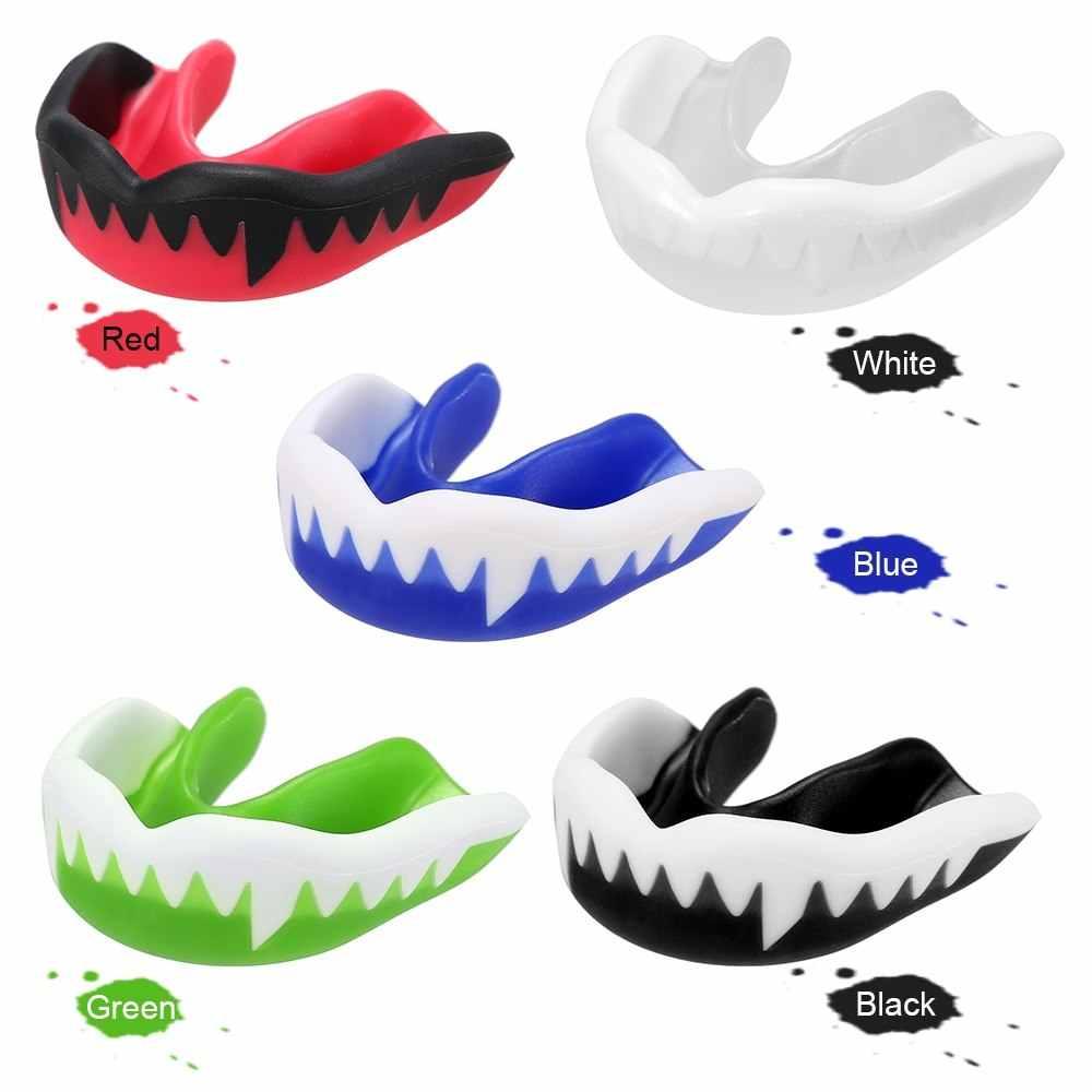 1 Pc 歯プロテクターキッズユースマウスガードスポーツボクシングマウスガード歯ブレース保護バスケットボールラグビーボクシング