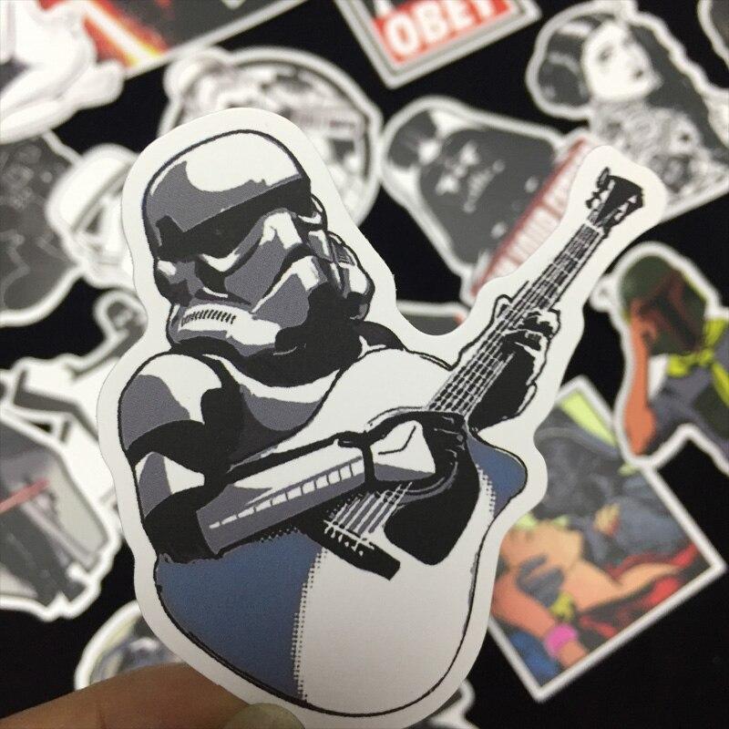 100pcs Mixed Star Wars Stickers Graffiti JDM Sticker for Kid DIY Skateboard Laptop Luggage Phone Car Bicycle Waterproof Stickers