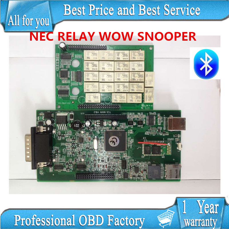 NEC RELAY 2016 WOW SNOOPER Bluetooth with box new appearance v5 008 R2 version free active