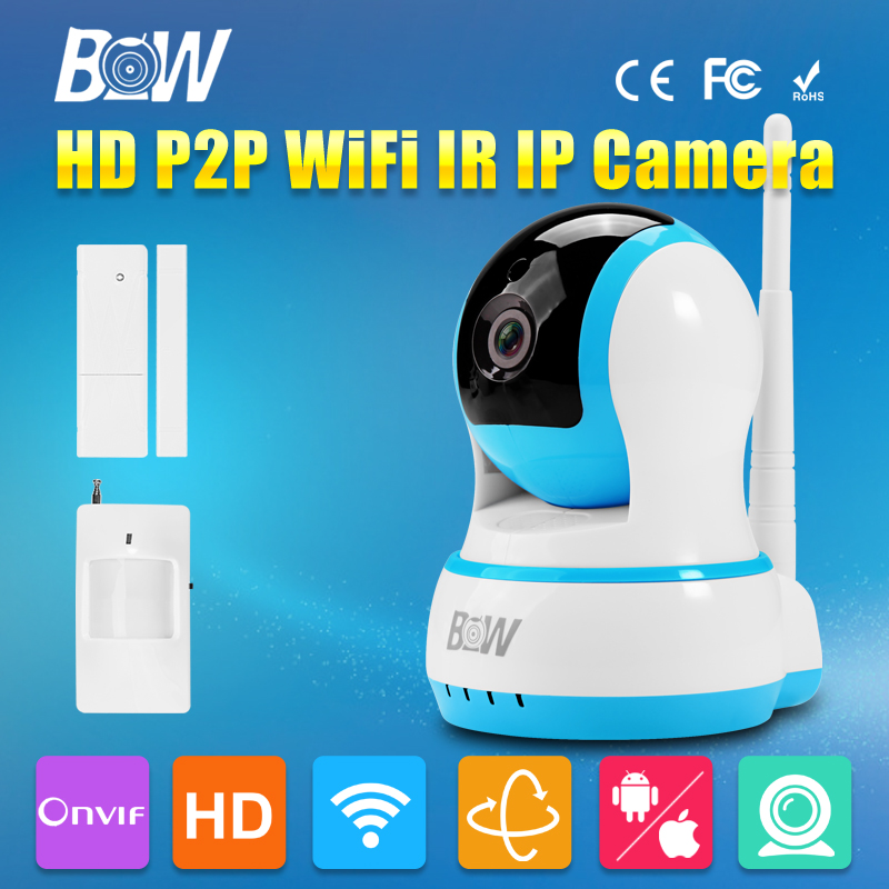 HD 720P Mini IP font b Camera b font Wifi Wireless H 264 Baby Monitor Onvif