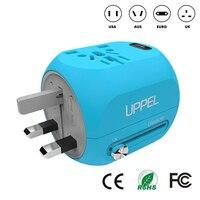 HOT Travel Adapter Type C USB Quick Charge 3.0 Power Socket Universal Travel Adapter Plug Portable Socket EU US UK Power Strip