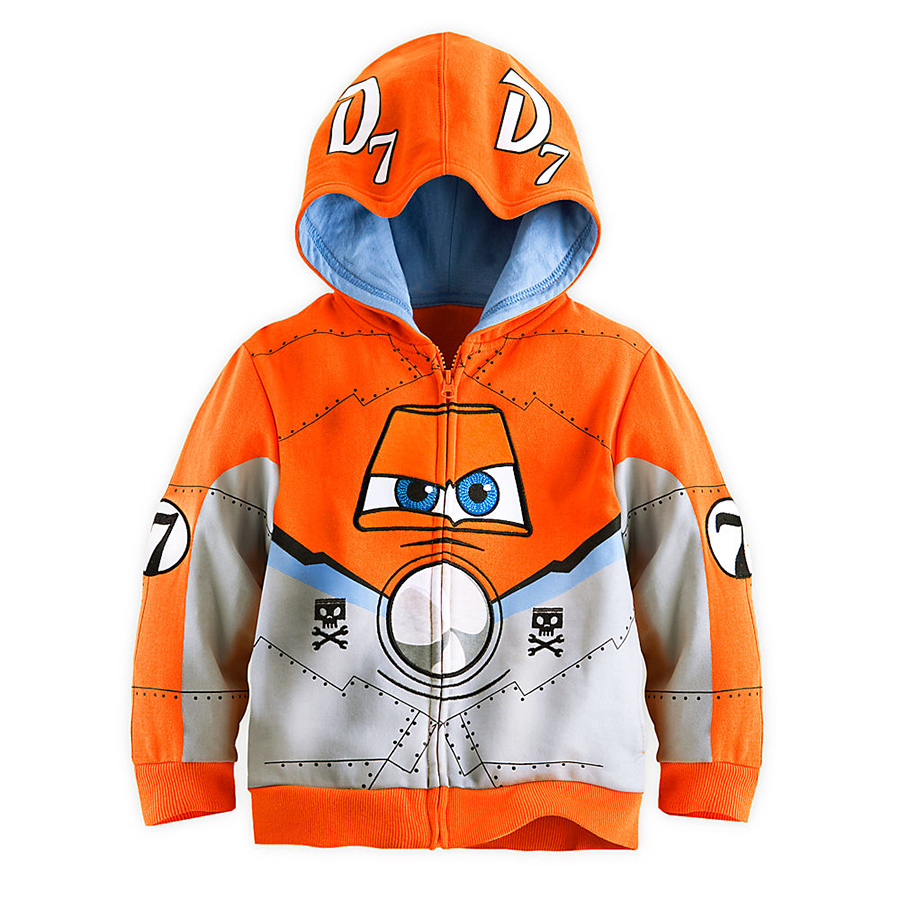2015 Hotsale Planes Boys Hoody Children Sweatshirt With Zipper Boys Hoodies And Sweatshirts Cotton Material Orange Jacket 092101