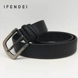 Image 3 - IFENDEI Geld Leder Gürtel Für männer Luxus Marke Gürtel Schwarz Designer Geheimnis Tasche Strap Versteckte Geld Echte Lederband