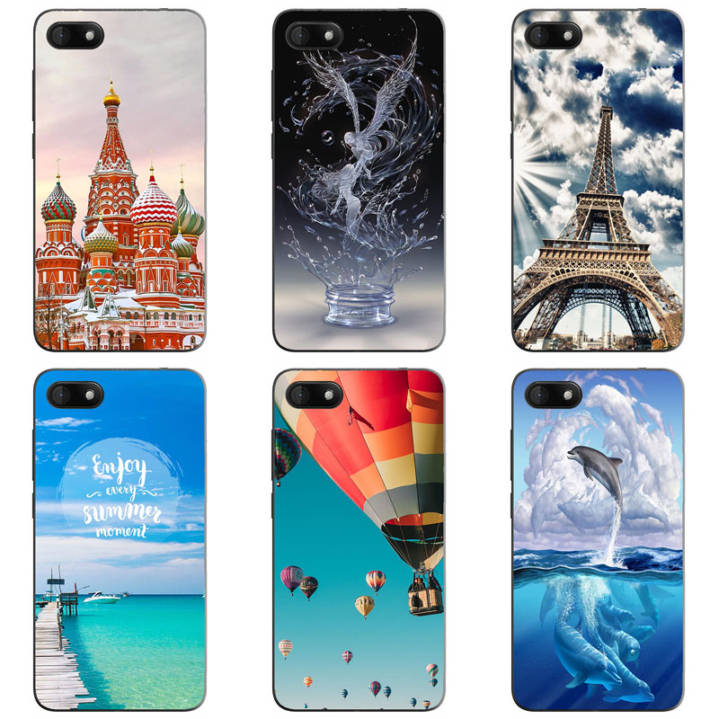 For Wiko Sunny 3 case Silicone back cover Coque Wiko Sunny3 case soft TPU cute painting case housse pour Wiko sunny 3 cover