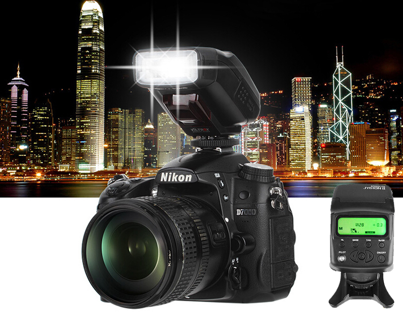 Nikon D700 D800 D810 D3100 D3200 D5200 D5300 D7000 D7200 DSLR के लिए Viltrox JY-610NII मिनी कैमरा TTL एलसीडी फ्लैश स्पीड
