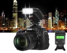 Viltrox JY 610NII Mini cámara TTL LCD Flash Speedlite para Nikon D700 D800 D810 D3100 D3200 D5200 D5300 D7000 D7200 DSLR
