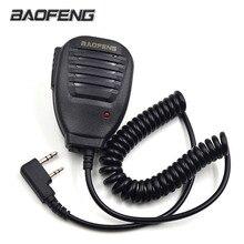 Оригинальный Баофэн Радио спикер микрофон микрофон РТТ для портативных двухстороннее Радио портативной рации УФ-5R УФ-5re УФ-5RA УФ-6р