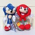Розничная 1 шт. 20 см Sonic the Hedgehog Чучела Плюшевые Игрушки Куклы С Тегом Бесплатная Доставка
