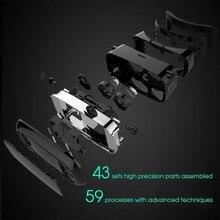 Cardboard VR shinecon versión Pro VR gafas de realidad virtual 3D + control remoto gamepad smart Bluetooth inalámbrico