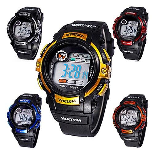 2018 daudzfunkciju vīriešu digitālais pulkstenis gaismas signāla diena datuma plākšņu elektronika rokas pulkstenis 1HQD 6T64 C2K5W