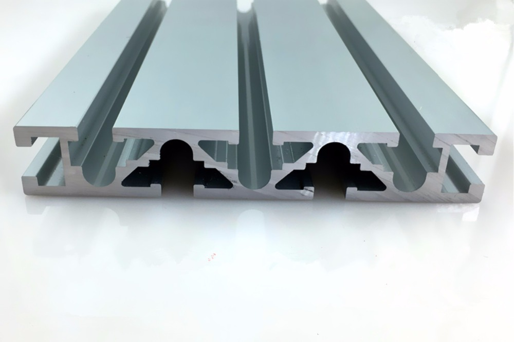 20120 aluminum extrusion profile wall thickness 3 0mm groove width 8mm length 400mm industrial aluminum profile