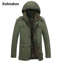 Новинка 2017 года, стильное Для мужчин Мода Досуг утепленная куртка с капюшоном Для мужчин высокое качество плащ Куртки Для мужчин бурелом Бе