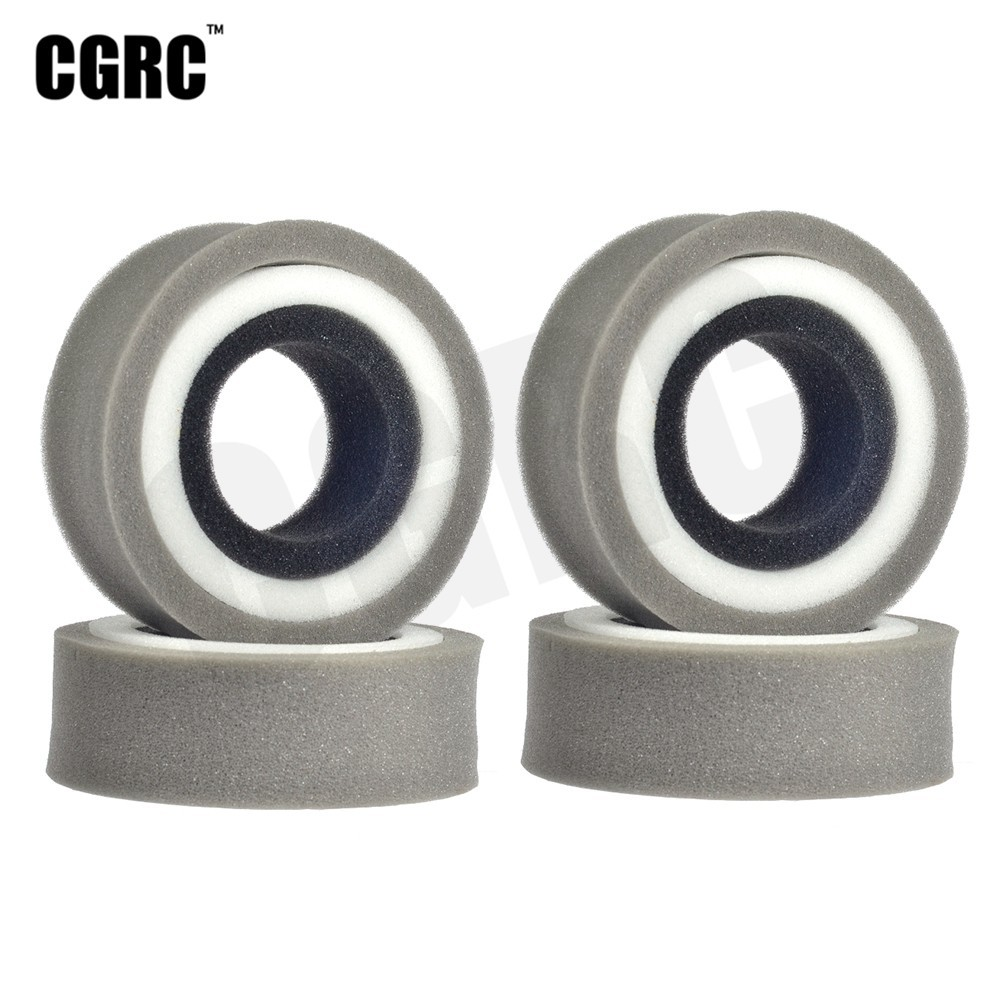 4pcs 1.9inch Tire Sponge Lining Three Segments For 1/10 RC Crawler Car Trx4 RC4WD D90 D110 Axial Scx10 VS4-10 CC01