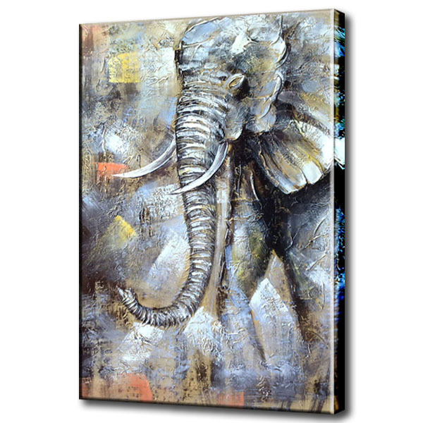 Aliexpress.com : Buy Nice elephant oil paintings for bedroom ...