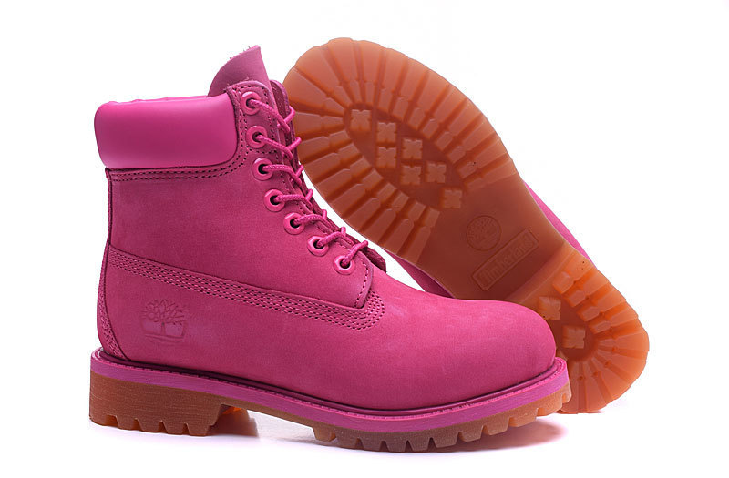 Original TIMBERLAND Women 10061 Pink Winter Boots,Woman Female Lovely Genuine Leather Ankle Anti-Slip Outdoor Warm Shoes 36-39.5 3
