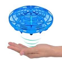 Анти столкновение ручной НЛО шар летающий самолет rc игрушки