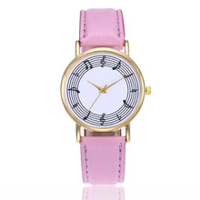 Top-Quality Women Leather Wrist Watch