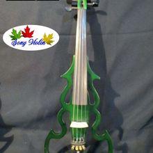 SONG Brand streamline 4/4 электрическая скрипка, твердая древесина#7676