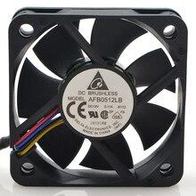DELTA AFB0512LB 5015 50x50x15 мм 50 мм вентилятор 12 В 0.11A двойной шариковый подшипник 4 провода 4pin бесшумный вентилятор охлаждения