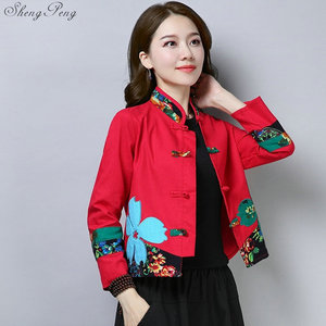 Image 3 - Traditional chinese clothing for women cheongsam top mandarin collar womens tops and blouses oriental China clothing V1362