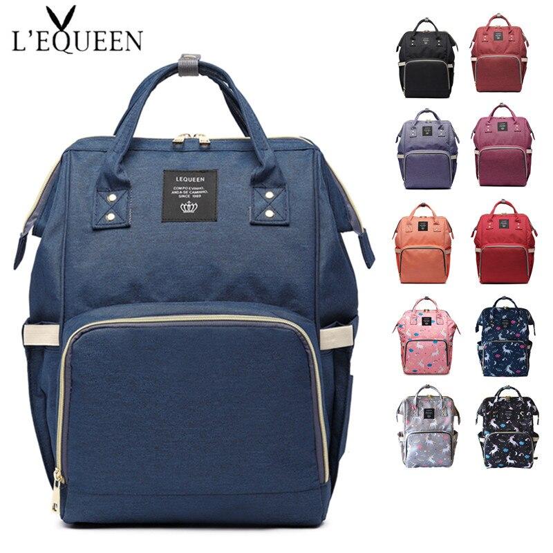 LEQUEEN Τσάντα για πάνες τσάντα Μεγάλες - Πάνες και εκπαίδευση τουαλέτας