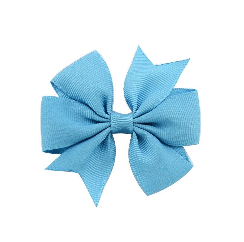 1 шт цвета сплошная корсажная лента банты заколки шпилька девушка бант для волос, бутик заколка для волос Головные уборы Детские аксессуары для волос 564 - Цвет: 36