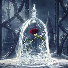 3D diamond embroidery diy  painting cross stitch kit Beauty and the beast picture mosaic pattern resin drill