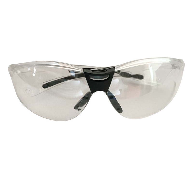 New Fashion Eye Protection Anti-shock Clear Protective Safety Glasses For Lab Outdoor Work