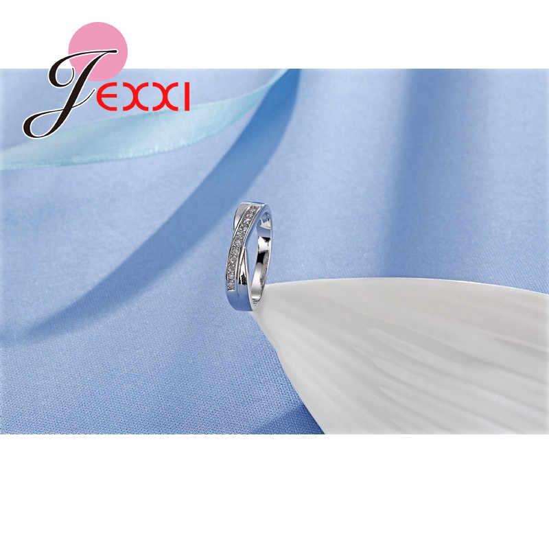 Классические высококачественные винтажные обручальные кольца с фианитами для женщин, модные ювелирные изделия, 925 пробы, Серебряное обручальное кольцо, бижутерия для женщин
