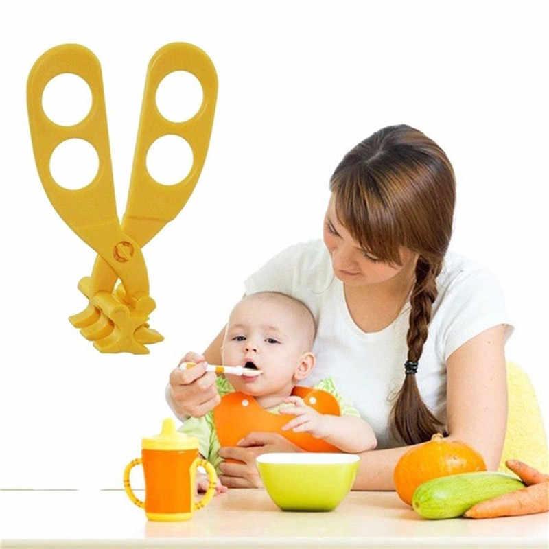 Детское питание мельницы, кофемолка Детская безопасность ножницы для приготовления пищи для детей Высокое качество детское питание добавочные ножницы Новый Многофункциональная крышка для еды с
