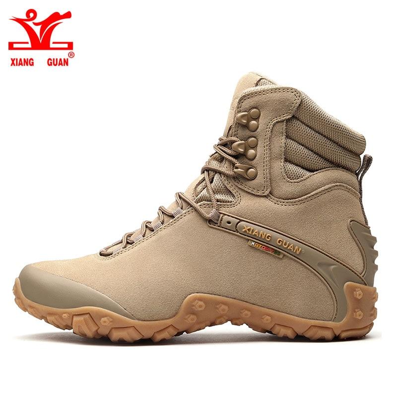 2018 Xiang Guan Men Hiking Boots Warm Outdoor Sport Shoes