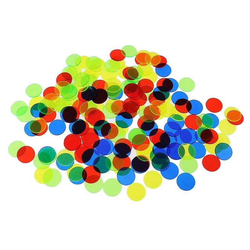 19 мм круглая окачивание/прозрачные монеты 100 шт./компл. покерные чипы пластиковые покерные опт