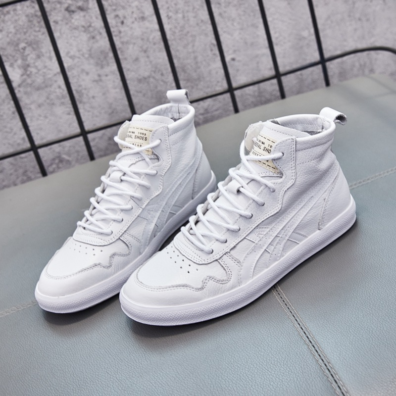 GYP leather high white womens shoes 2019 new flat-bottomed sneakers fashion high-top walking shoes zapatos de mujer MM-36GYP leather high white womens shoes 2019 new flat-bottomed sneakers fashion high-top walking shoes zapatos de mujer MM-36