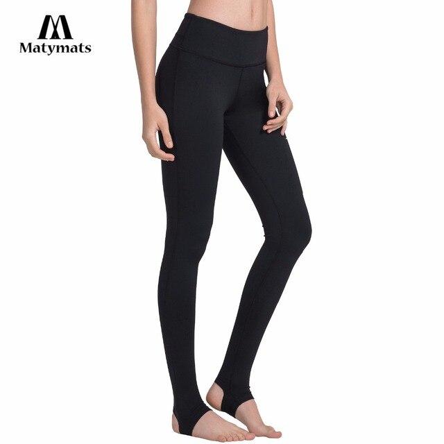 52cc0a7fa5c414 Matymats Yoga Pants Women's High Quality Workout Leggings Stirrup Tights  Anti-pilling Fitness Leggings