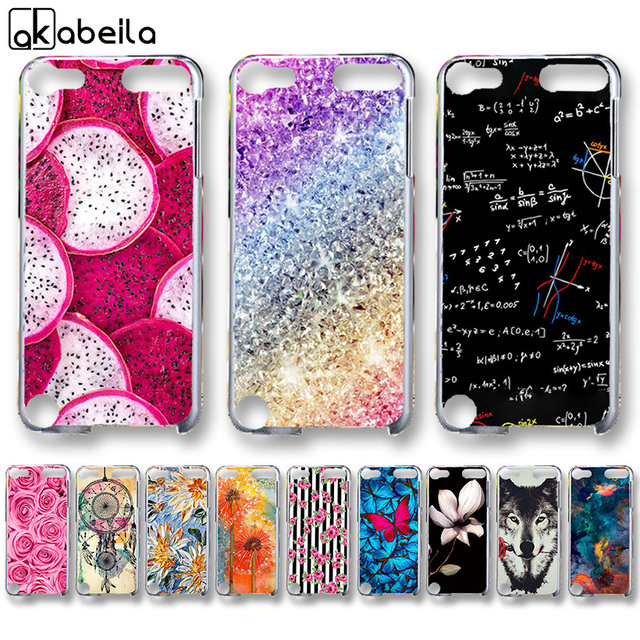 AKABEILA Soft TPU Plastic Phone Cases For Apple iPod Touch 5 5th 5G touch5 6 6th Covers Nutella Flamingo Tetris Bags Back Shell