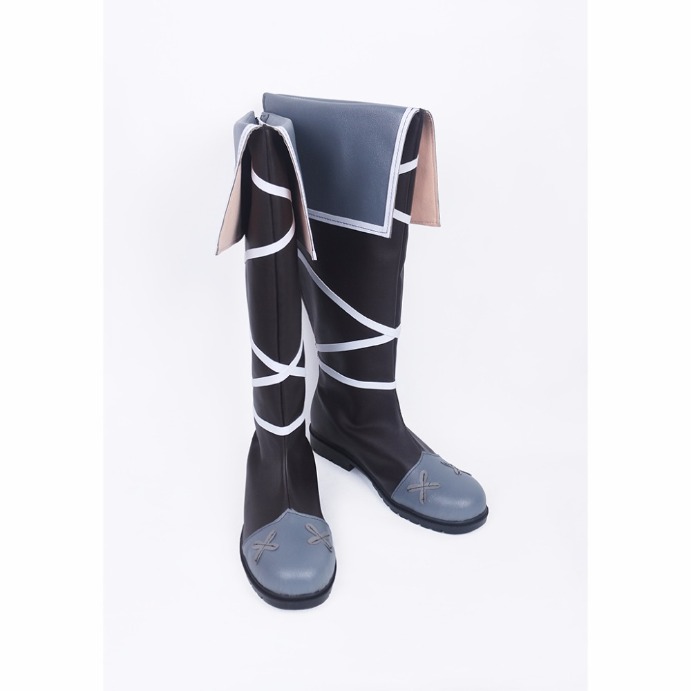 Anime Tales of Zestiria Cosplay Shoes Boots Dezel Cosplay ...