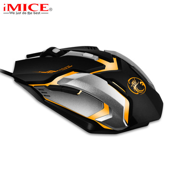 Professional Game Engine Wired Gaming Mouse LED Optical 3D Wheel USB Computer Mouse Mice for PC Computer Laptop for CSGO Gamer เมาส์