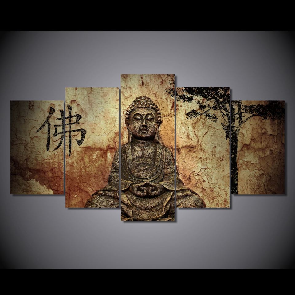 Online buy wholesale buddha frames from china buddha for Cheap framed prints online
