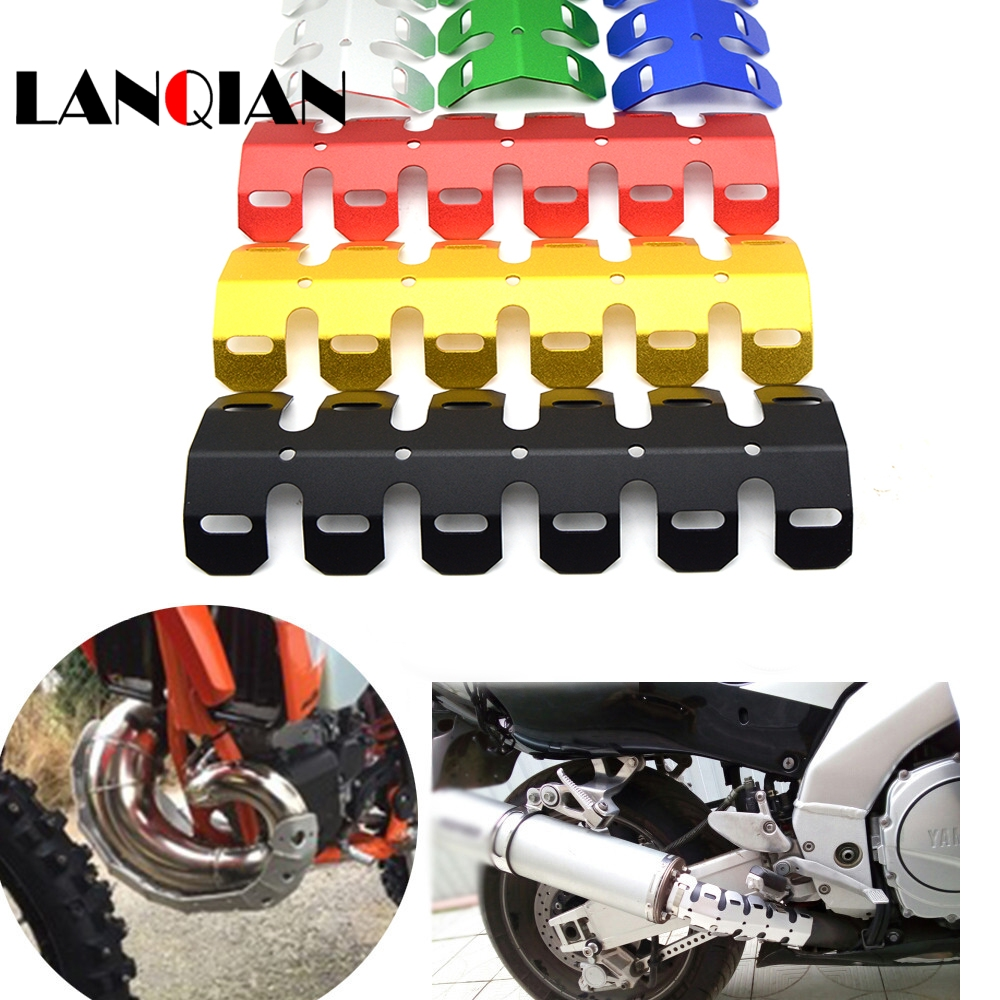 Automobiles & Motorcycles Yuanqian Dirt Exhaust Muffler Pipe Leg Protector Moto Heat Shield Cover For Suzuki V-strom 650 Abs 1000 Abs Adventure Dr-z400s Exhaust & Exhaust Systems