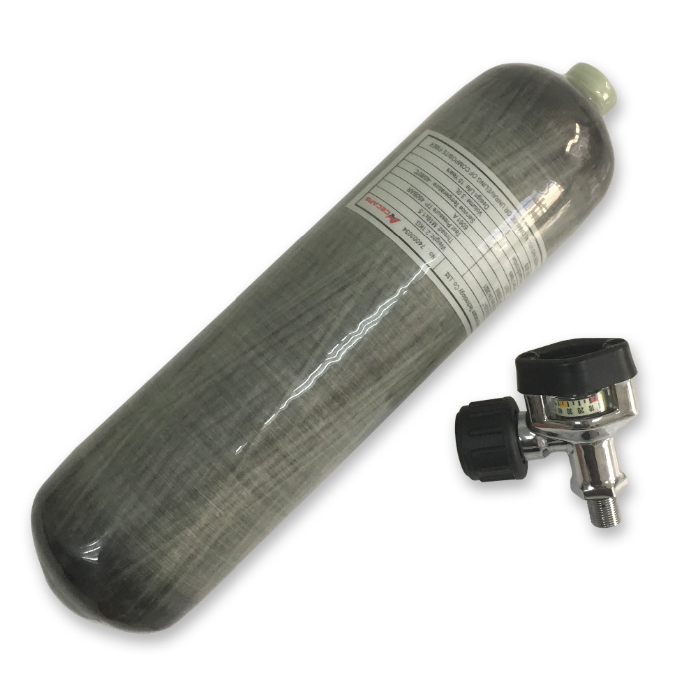 AC10321 Airgun Air Compressed Guns 3L Pcp Airsoft Hunting Diving 300bar Gas Cylinder Underwater Hunting Shooting Target