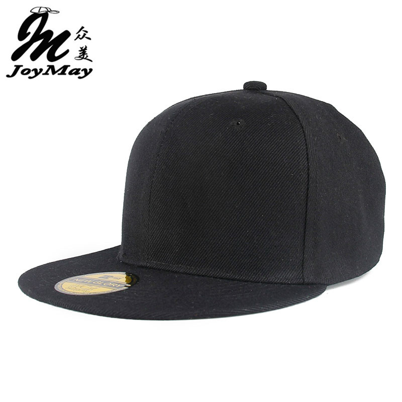 Adjustable Men Women Baseball Cap Solid Hip Hop Snapback Flat Peaked Hat Visor X117 hot sale adjustable men women peaked hat hiphop adjustable strapback baseball cap black white pink one size 3 colors dm 6
