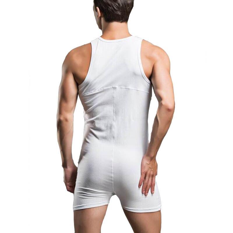Slimming corset body shaper shapewear faja hombre cotton shirt bodysuit mens underwear camisa masculina body suits sleepwear 2