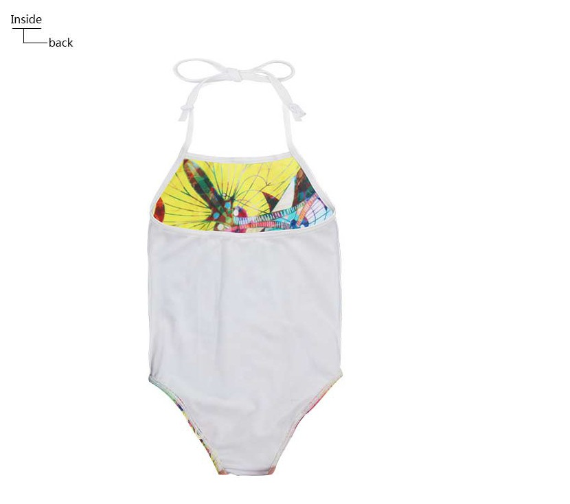 a851ccd1d4400 Summer Drawing Style Baby Girls Swimwear Kids Girls One Pieces ...